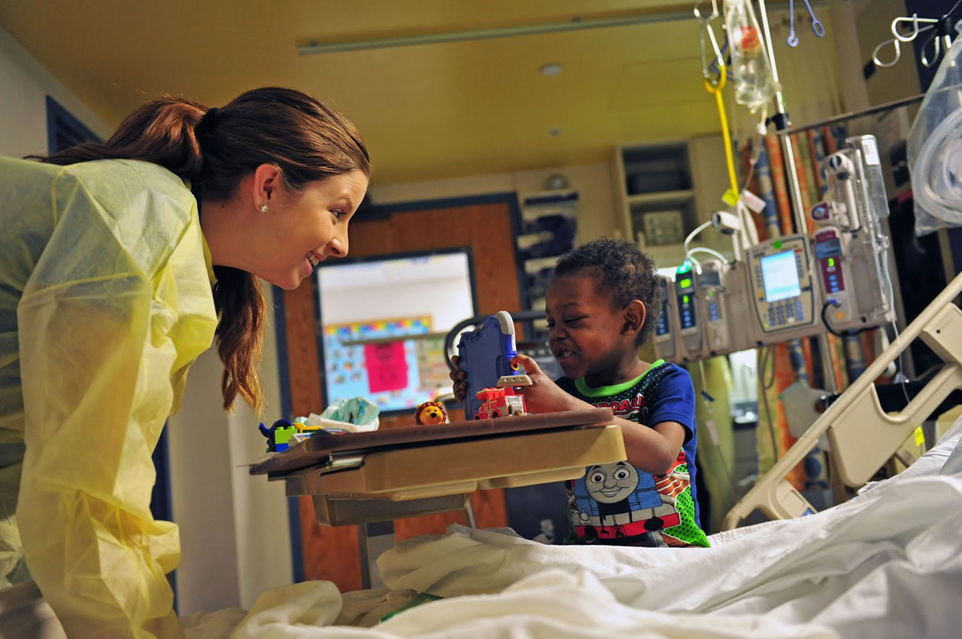 Connecting college students with hospitalized children